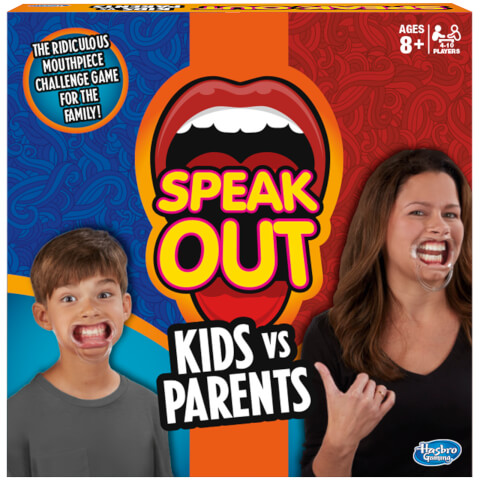 Hasbro Speak Out: Kids Vs. Parents Game