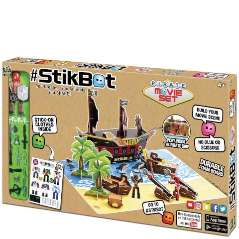 Tournage Pirates - StikBot
