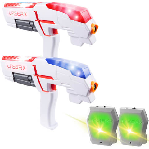 Lot de 2 Pistolets Laser - Character Options Laser X Game