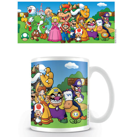 Super Mario Coffee Mug (Characters)