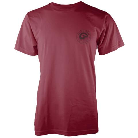 Native Shore Men's Authentic Shore Pocket Print T-Shirt - Burgundy