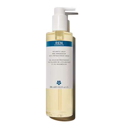 REN Skincare Atlantic Kelp and Magnesium Anti-Fatigue Body Wash 300ml