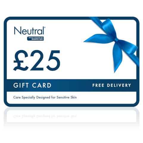 Neutral 0% £25 E-Voucher