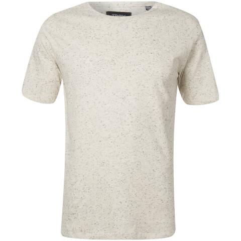 Troy Men's Jamie Nep Yarn T-Shirt - Blank De Blanc