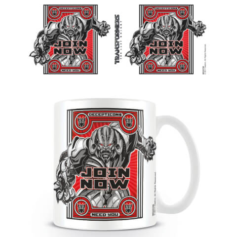 Transformers The Last Knight (Join Now) Mug