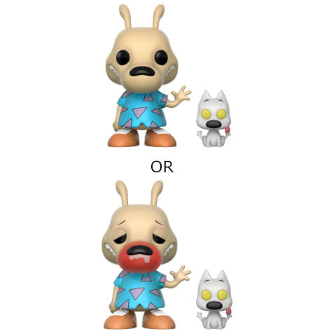 Nickelodeon Rocko's ML Rocko and Spunky Pop! Vinyl Figure with Chase