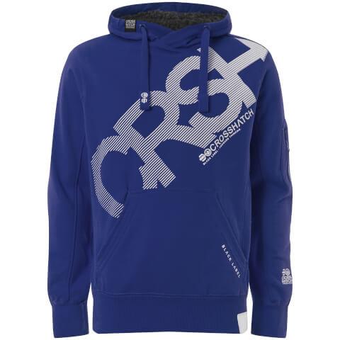 Crosshatch Men's Intersink Hoody - Mazarine Blue
