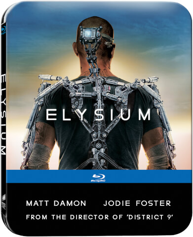Elysium - Zavvi Exclusive Limited Edition Steelbook (Includes DVD Version) (Limited to 1000 Copies)