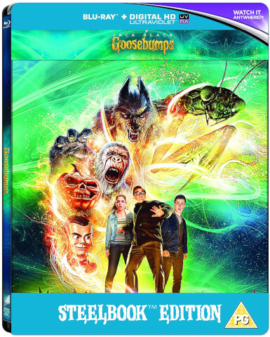 Goosebumps (2015) - Zavvi Exclusive Limited Edition Steelbook (Includes DVD Version) (Limited to 1000 Copies)