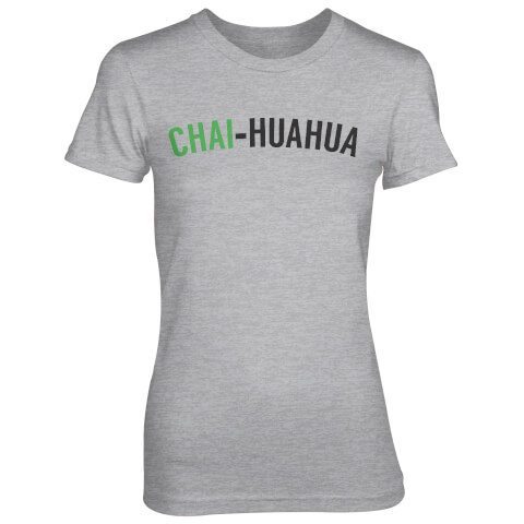 Chai-huahua Women's Grey T-Shirt