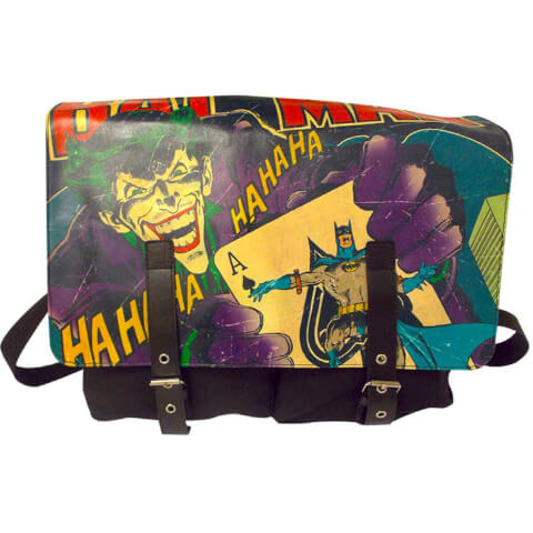 Vintage Batman Satchel Bag