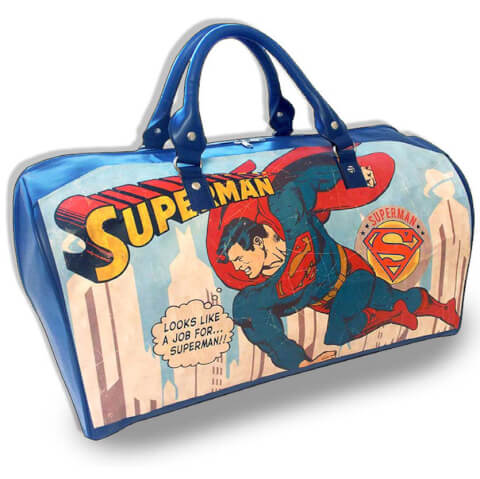 Vintage Superman Weekend Bag