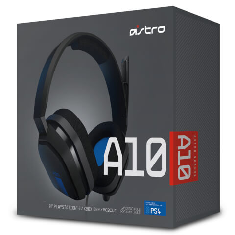 ASTRO Gaming A10 Headset (PS4/Xbox One/PC)