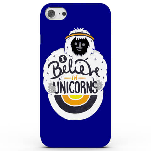 Coque pour iPhone & Android I Believe in Unicorns - 4 Couleurs