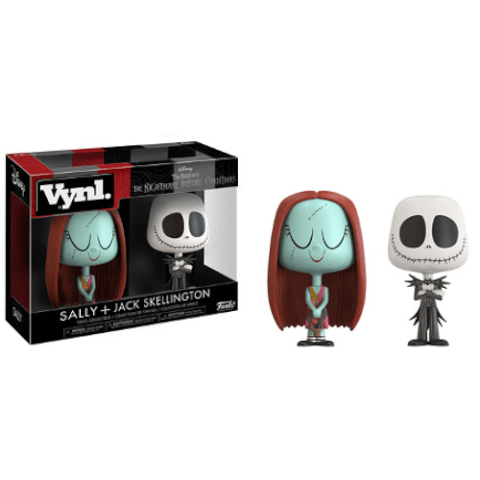 Sally and Jack Skellington Vynl.