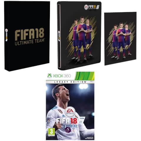FIFA 18 Steelbook Édition Exclusive Avec Carte