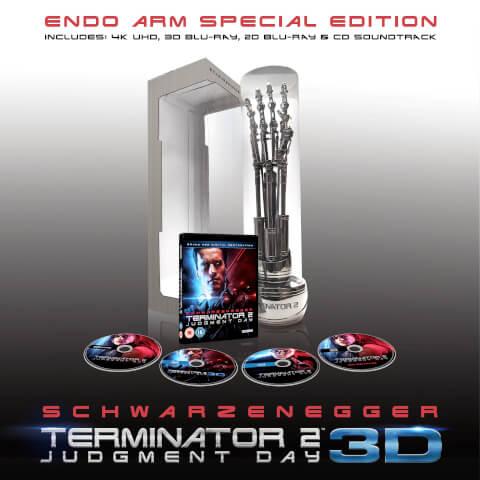 Terminator 2: Bras Cybernétique (4K + Blu-ray 3D + Blu-ray + CD)