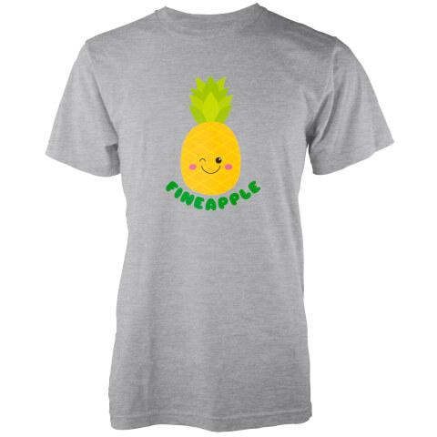 Kawaii Fineapple Grey T-Shirt