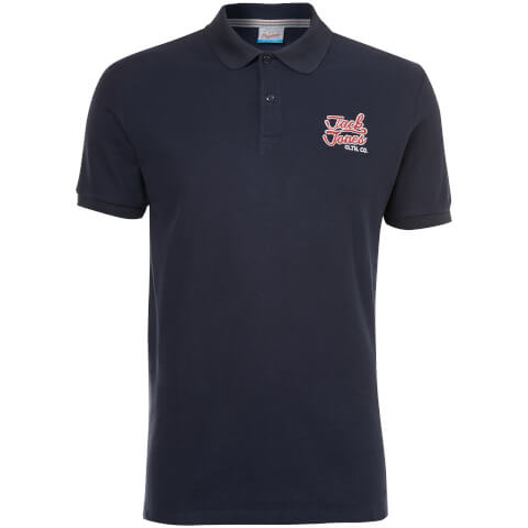 Jack & Jones Men's Originals Authentic Polo Shirt - Total Eclipse