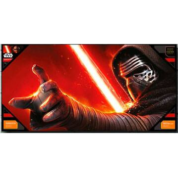 Star Wars Episode VII Glass Poster - Kylo Ren (50 x 25cm)