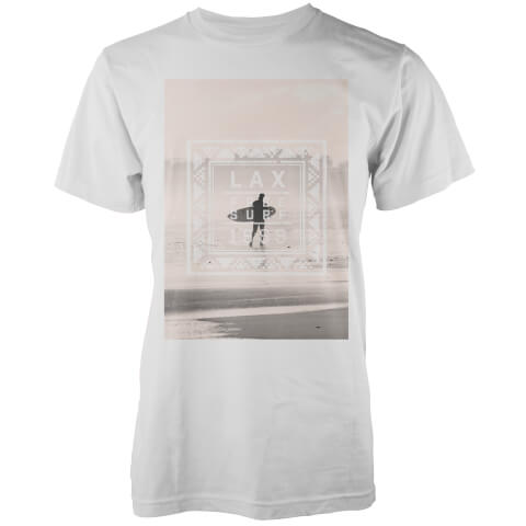 Native Shore Men's Free Surf Graphic T-Shirt - White