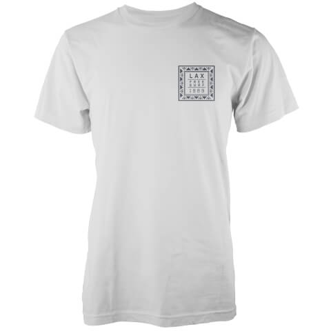 T-Shirt Homme LAX 1989 Native Shore - Blanc