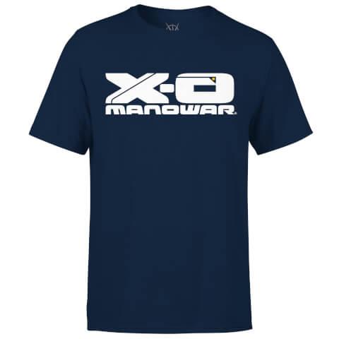 T-Shirt Homme Logo Valiant Comics X-O Manowar - Bleu Marine