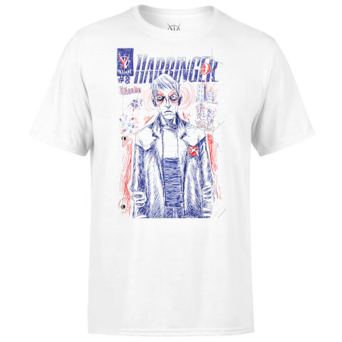 Valiant Comics Graphic Harbinger T-Shirt - White