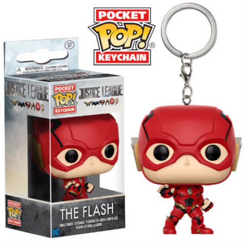Justice League The Flash Pop! Keychain