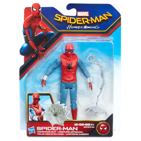 Hasbro Spider-Man Homecoming Action Figure - Homemade Suit Spider-Man