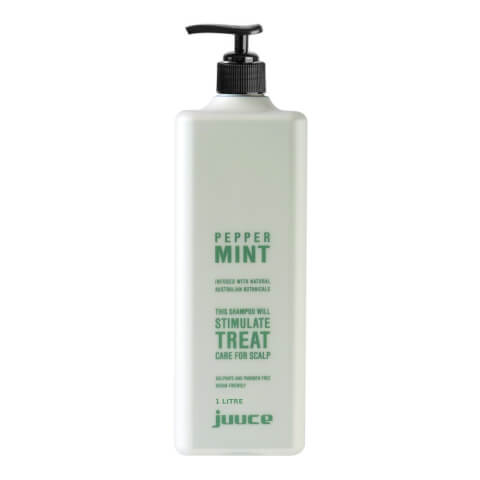 Juuce Peppermint Scalp Stimulating Treatment Shampoo 1 Litre