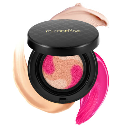 Mirenesse 10 Collagen Cushion Custom Liquid Colour Lift and Tint Blush 2. Peony 15g