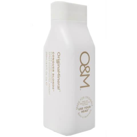 Original & Mineral Conquer Blonde Silver Conditioner 250ml
