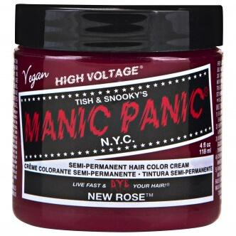 Manic Panic Semi-Permanent Hair Color Cream - New Rose 118ml
