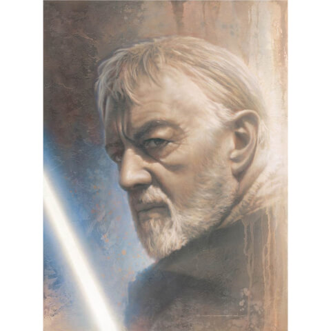 Star Wars Timeless Series: Print #1 - Obi-Wan by Jerry Vanderstelt - Zavvi Exclusive