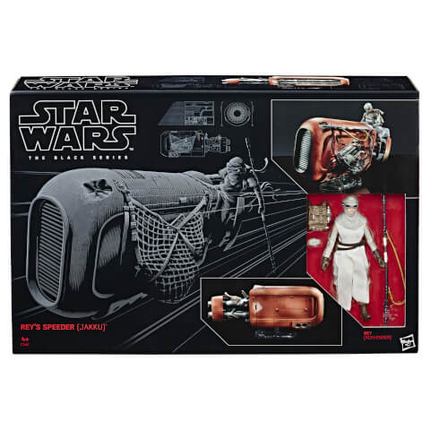 Hasbro Star Wars The Black Series: Rey's Speeder (Jakku)