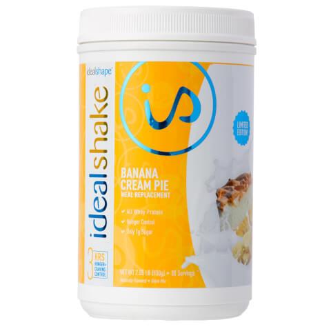 IdealShake Banana Cream Pie - Meal Replacement Shake