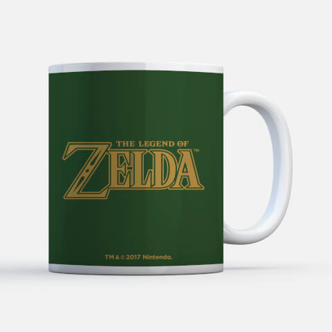 Nintendo Legend of Zelda Hyrule Crest Mug
