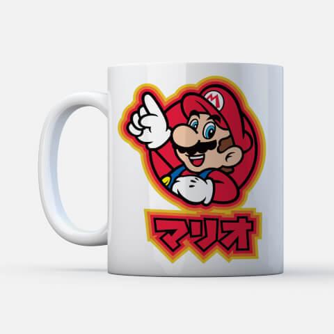 Nintendo Super Mario Mario Kanji