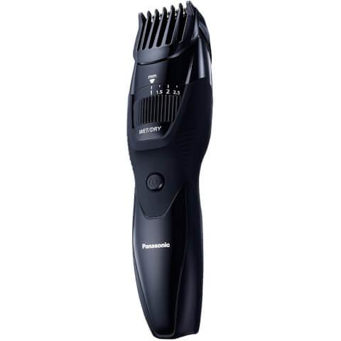 Panasonic ER-GB42 Wet and Dry Beard Trimmer (19x Cutting Lengths) - Black