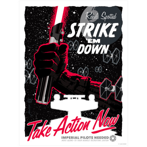 Star Wars - Take Action Now Print by Brian Miller (457mm x 610mm)