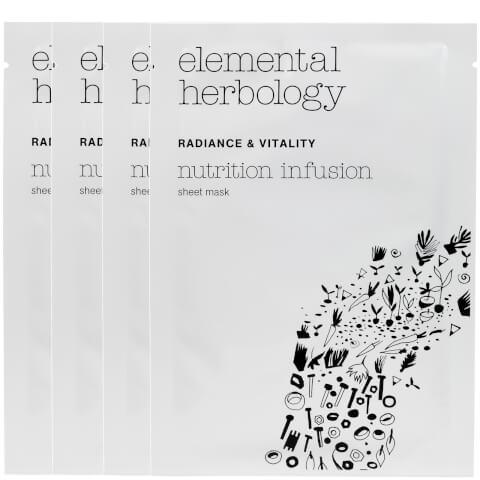 Elemental Herbology Nutrition Infusion Sheet Masks - 4x25g