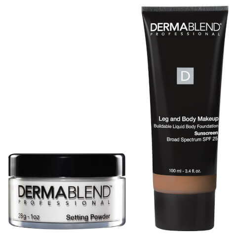 Dermablend Tattoo Coverage Set - 45N Med Bronze