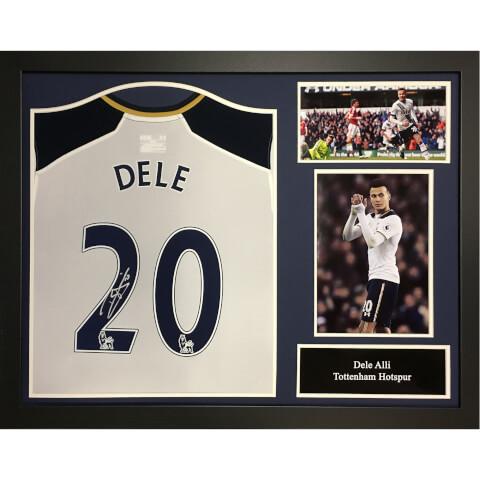 Dele Alli Signed and Framed Tottenham Hotspurs Shirt