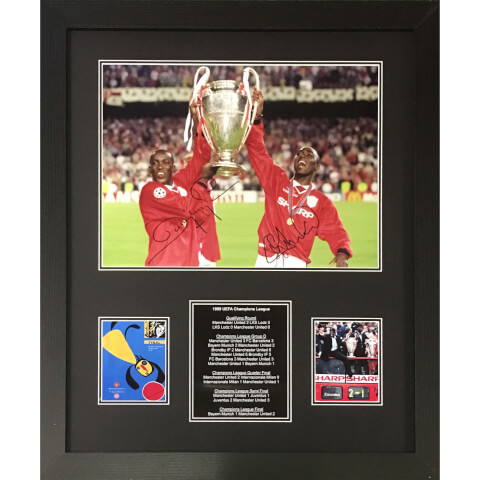 Cole/Yorke Dual Signed and Framed 16 x 12 Image