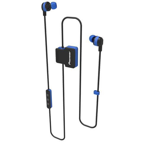 Pioneer SE-CL5BT-GR Wireless Bluetooth Earphones - Blue