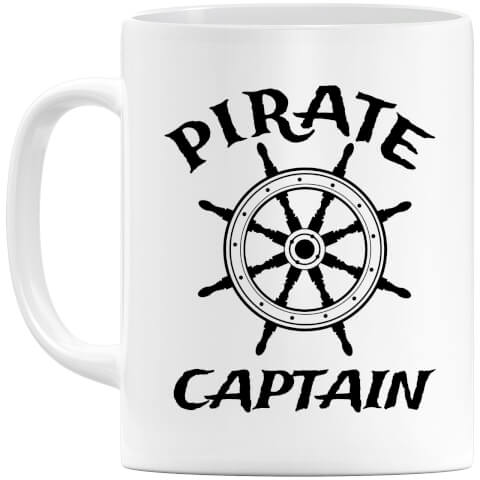 Pirate Captain Mug