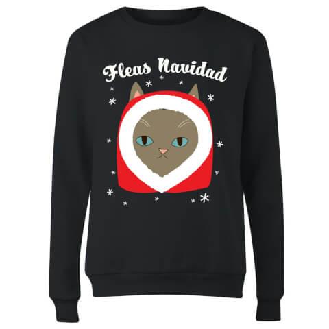 Fleas Navidad Women's Sweatshirt - Black