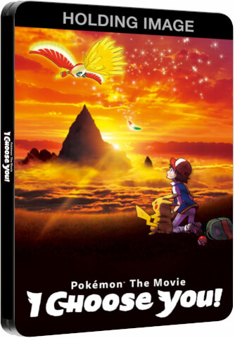 Pokemon The Movie: I Choose You! - Limited Edition Steelbook
