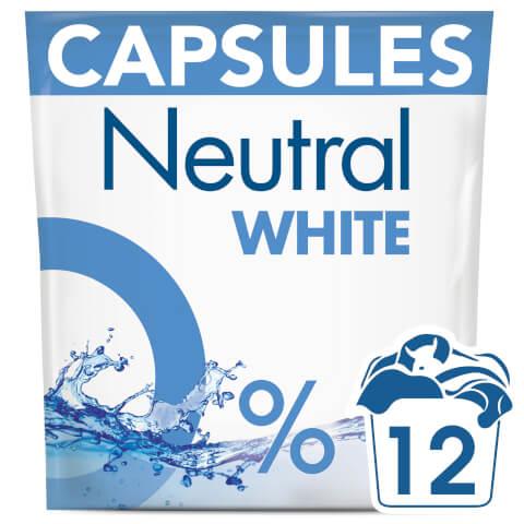 Neutral White Washing Capsules - 12 Wash 318g